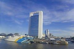 Port de Buenos Aires Photos libres de droits