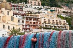 Port de côte de Positano Amalfi Photos stock