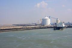 Port de Calais Image libre de droits