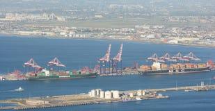 Port de Cape Town Image libre de droits