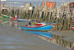 Port de Carrasqueira Photos libres de droits