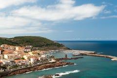 Port de Castelsardo Images stock