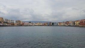 Port de Chania Image stock