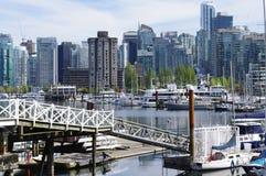 Port de charbon à Vancouver Photo stock