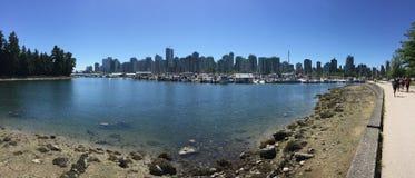 Port de charbon, Vancouver Images stock