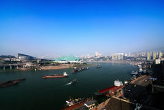 Port de Chongqing photo stock