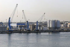 Port de Civitavecchia Image libre de droits