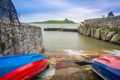 Port de Coliemore, Dublin Images stock