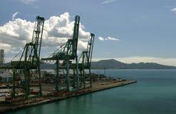 Port de conteneur Photos libres de droits