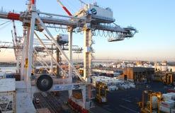 port de conteneur Photo stock