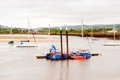 Port de Conwy, Pays de Galles, Grande-Bretagne Photographie stock