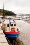 Port de Conwy, Pays de Galles, Grande-Bretagne Photos stock