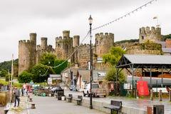 Port de Conwy, Pays de Galles, Grande-Bretagne Photo stock