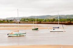 Port de Conwy, Pays de Galles, Grande-Bretagne Image stock