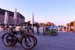 Port de Copenhague Photo stock