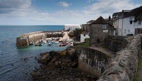 Port de Coverack, les Cornouailles, Angleterre Photographie stock