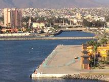 Port de croisière d'Ensenada Photographie stock