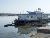 Port de Danube, Drobeta-Turnu Severin, Roumanie Image libre de droits