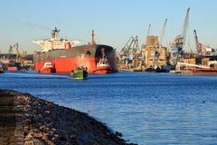 Port de Danzig images libres de droits