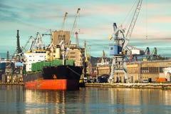 Port de Danzig Photographie stock libre de droits