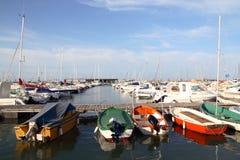Port de Denia Photographie stock