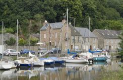 Port de Dinan Photo stock