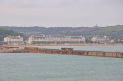 Port de Douvres, Royaume-Uni photos stock