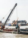 Port de dragage de Whitstable Photos stock