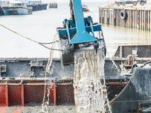 Port de dragage de Whitstable Photos libres de droits