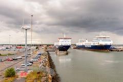 Port de Dublin, Irlande photo libre de droits