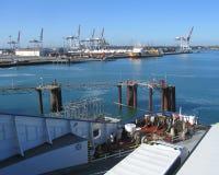 Port de Dunkerque, France images libres de droits