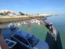 Port de ferry Photos libres de droits