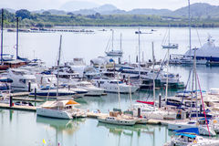 Port de ferry Image stock