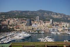 Port de Fontvieille, Monte Carlo, ville, paysage urbain, ville, point de repère Images stock