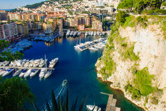 Port de Fontvieille Royalty Free Stock Photo