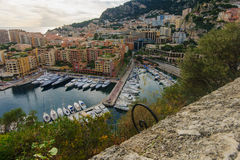 Port de Fontvieille Stock Images
