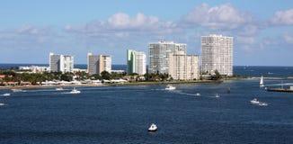 Port de Fort Lauderdale photo stock