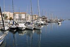 Port de Frejus Image libre de droits