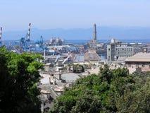 Port de Gênes Photos stock