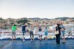 Port de Gênes en août 2013 Photographie stock