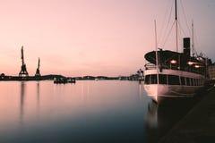 Port de Gothenburg photo stock