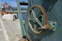 Port de grue Photographie stock libre de droits