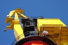 port de grue vieux Image libre de droits