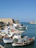 Port de Héraklion Photographie stock libre de droits