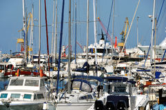 Port de Héraklion, Crète Photo stock