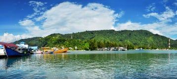 Port de Haji labuhan Aceh photos libres de droits