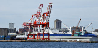 Port de Halifax Photographie stock