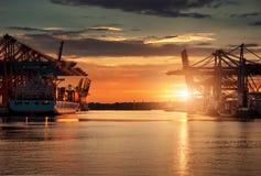 Port de Hambourg Image stock