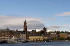 Port de Helsingborg Images libres de droits