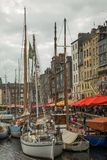 Port 2 de Honfleur photos stock